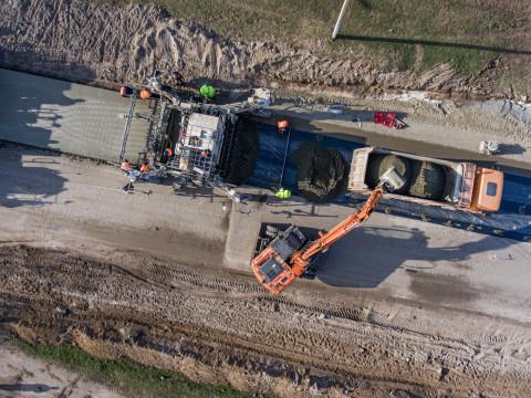 Відновлені роботи на ділянках капітального ремонту автомобільної дороги Н-14